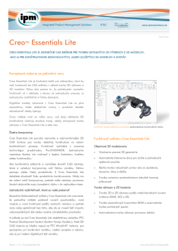 Creo Essentials Lite