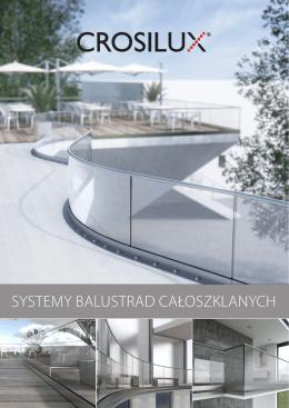 Systemowe balustrady szklane 1.0