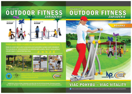 OUTDOOR FITNESS OUTDOOR FITNESS