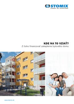 Kde na to vziať - z čoho financovať zateplenie bytového