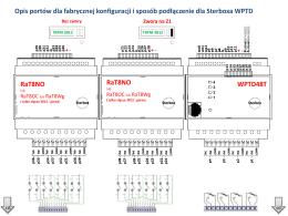 Dokładny schemat podłączenia i wyprowadzeń Sterboxa WPTD i