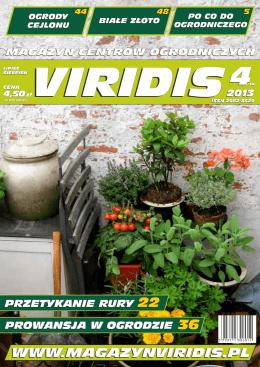 1 OKŁADKA - Magazyn Ogrodniczy VIRIDIS