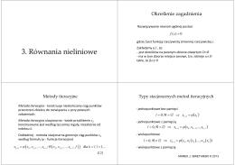 MN0506 - Równania nieliniowe