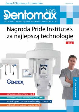 Nagroda Pride Institute`s za najlepszą technologię
