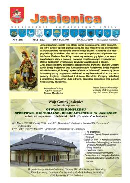 Maj 2012 - Jasienica, Urząd Gminy