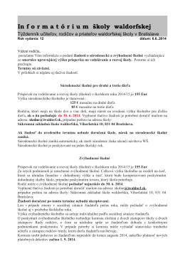 Informatórium 6.6.2014