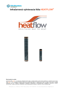 heatflow.pdf - SOLARsystems