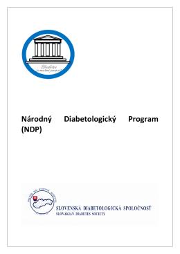 Kompletný Národný diabetologický program v pdf