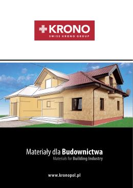 Płyty Kronopol OSBKatalog (16 stron) pdf / 2,09 MB