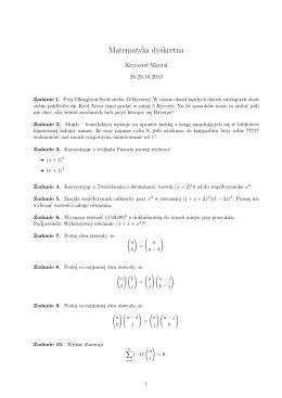 Zadania 4 - Krzysztof Paweł Misztal
