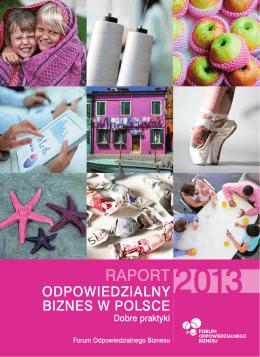 Raport Odpowiedzialny Biznes w Polsce