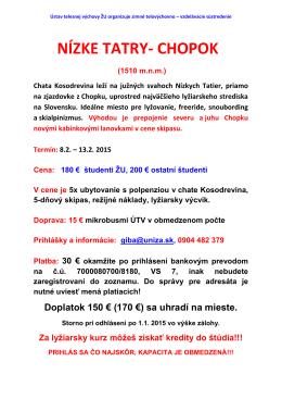 Kosodrevina 2015
