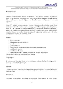 Mononukleoza - Centrum Medyczne OLMEDICA