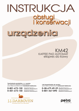 Kaffee Pad Automat KM42