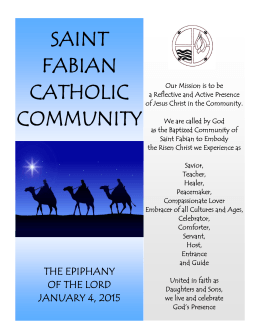 saint fabian catholic community