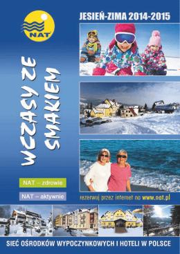 ZIMA 2014-2015 - Nadwiślańska Agencja Turystyczna
