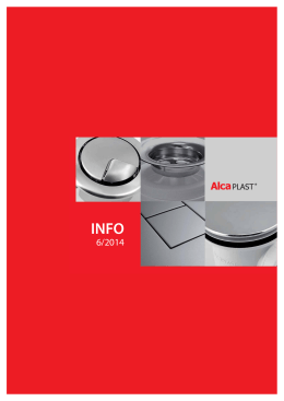 INFO 06/2014 - Alca plast, sro