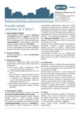 Pravidlá súťaže Hrdinom za 3 fotky.indd