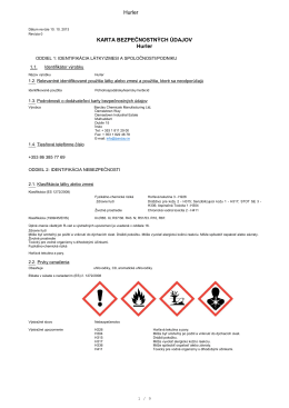 Hurler® MSDS - Barclay Chemicals