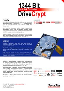DriveCrypt - Securstar