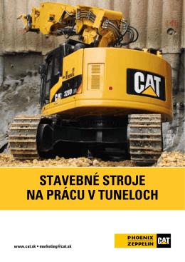 Tunelovacie stroje CAT