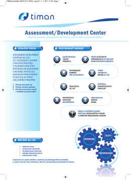 Assessment/Development Center