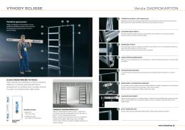Katalóg - Púzdro pre jednokrídlové dvere do SDK