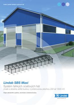 Katalóg Lindab SBS Maxi