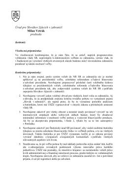 pripomienky Úradu pre Slovákov žijúcich v zahraničí