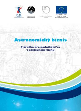 Astronomický biznis - Program cezhraničnej spolupráce Poľsko