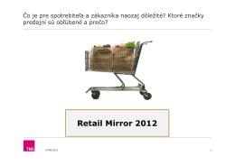 Retail Mirror 2012