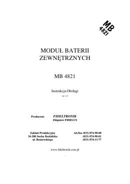 karta katalogowa rb