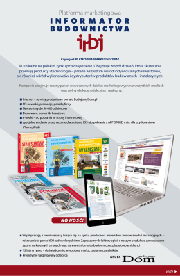 Mediaplan IRBJ na rok 2015