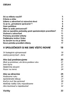 Nova velka kniha etikety / Ladislav Spacek ; [prelozila