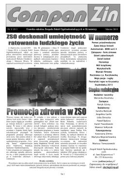 przeczytaj - ZSO Kruszwica