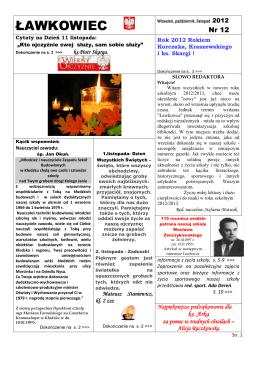 ŁAWKOWIEC - Zespół Szkół Ponadgimnazjalnych Nr 1 w Kłodzku