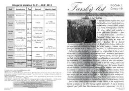 Farský list č. 19 - grkatniznyhrabovec.sk