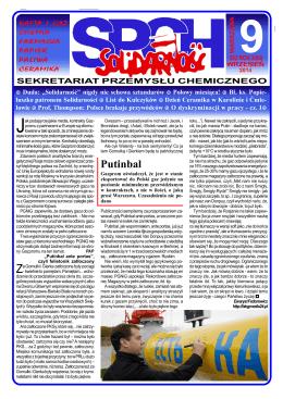 """Putinbal - """"Solidarność"""" 1980 – 1989"""