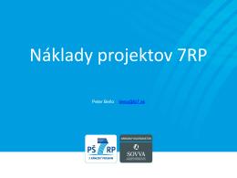 Náklady projektu 7. rámcového programu