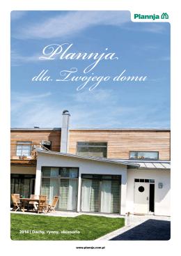 Plannja dla Twojego domu 2014
