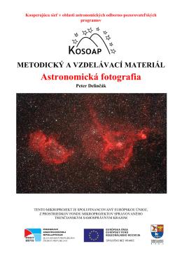 Astronomická fotografia - Hvězdárna Valašské Meziříčí