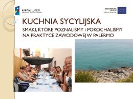 kuchnia włoska - Zespół Szkół Ponadgimnazjalnych Nr 3 w Stalowej