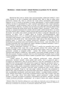 otvorenie v pdf - Agentura Pacis Posonium
