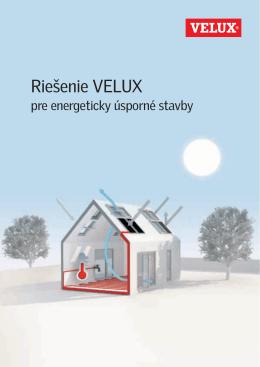 Riešenie pre energeticky úsporné stavby