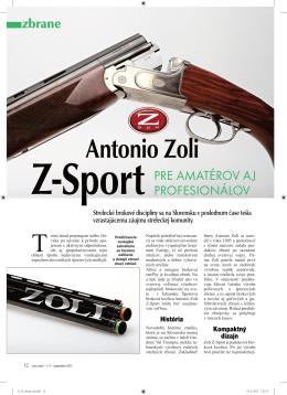 Antonio Zoli Z-Sport - PDF