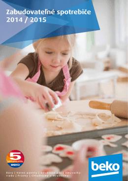 Katalog zabudovateľných spotrebičov Beko 2014 (pdf)