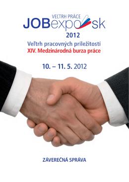 Záverečná správa JOBexpo 2012