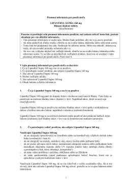 Lipanthyl Supra 160 mg PIL
