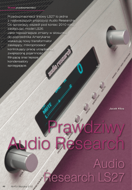 Audio Research LS27