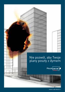 ROCKPANEL FS-Xtra; Nie pozwól, aby Twoje plany poszły z dymem